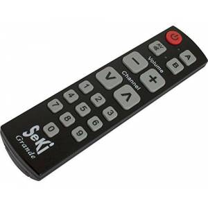 Seki Universal Remote Control with Learning Function Black (German Import)