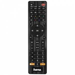 Hama Universal 10m 8-in-1 Remote Control for TV/DVD/STB/VCR