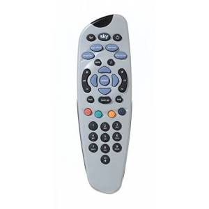 Sky Original Sky remote - Duracell Batteries Included - Compatible with Sky digibox - Official Sky Branded Retail Packaging -  SKY101