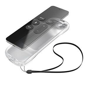 Hama Silicone Case for Apple TV 4 Siri Remote Control Flexible Cover Boot Liner With Wrist Strap