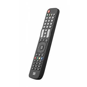 One For All LG TV Replacement remote - Works with ALL LG televisions (LED,LCD,Plasma) - Ideal TV replacement remote control with same functions as the original LG remote - black - URC1911
