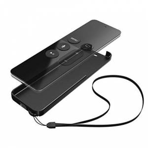 Hama Protective cover   Black shell for Apple TV Remote