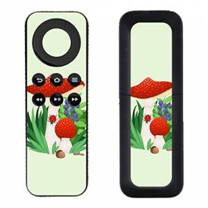 DISAGU 'Disagu SF/SDI 5259 _ 1195 Protective Skins Case Cover For Amazon Fire TV Remote Controller (Toadstool 02 Clear