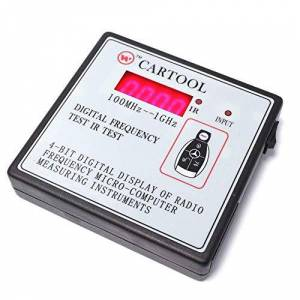 Cablematic-Checker digital RF frequency 100MHz-1000MHz with support infrared IR remote control