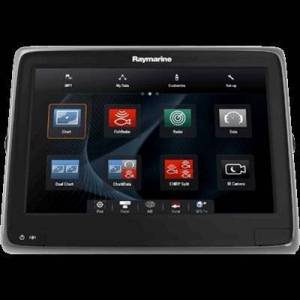 RAYMARINE E70237A Series A128WiFi Touch Multifunction Display with Built-in Down Vision Fish Finder without Transmitter/Card 30.5cm (12Inches)