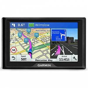 Garmin 010-01679-2B Drive 61LMT-S 6-inch Sat Nav with Lifetime Map Updates for UK, Ireland and Western Europe and Free Live Traffic - Black
