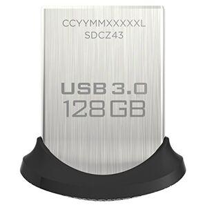SanDisk Ultra Fit 128 GB USB Flash Drive USB 3.0 up to 150 MB/s