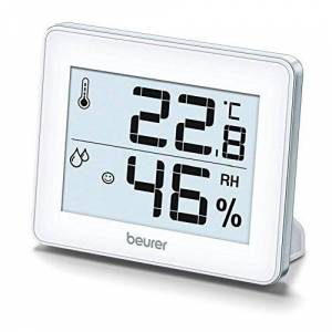 Beurer HM16 Thermo Hygrometer, Silver