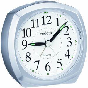 Vedette Speedboat - 204.1063.11 quartz Metallic Sweep Alarm Clock Grey