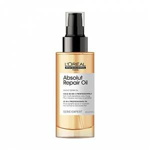 L'Oreal LOral Professionnel  10-in-1 Leave-in Oil, Dry And Damaged Hair, Serie Expert Absolut Repair, 90ml