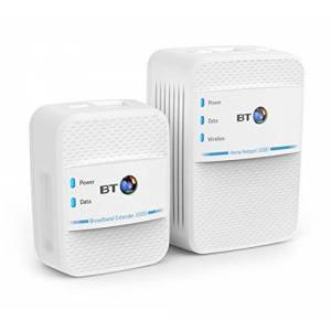 BT Wi-Fi Home Hotspot 1000 Kit with wired AV1000 Powerline and 11ac 600 Wi-Fi