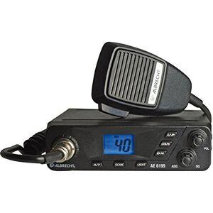 Albrecht AE-6199 Compact Multi Channel Multi Region Mobile CB Radio
