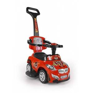 Milly Mally 3-in-1 Happy Ride On Car (Red)