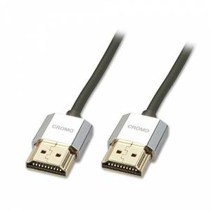 LINDY 4.5m CROMO Slim Active High Speed HDMI 2.0 Cable with Ethernet and 4K support