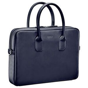 """Mobilis 04202016""""Briefcase Laptop Bag-Blue Laptop Case (Briefcase 40.6cm (16), Stretchy, 485g, Blue)"""