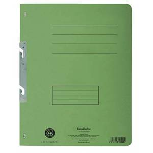 Exacompta 352525B Attachable File Recycled Cardboard, Full Front Cover Title Strip A4(Green)