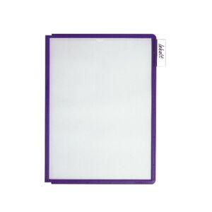 Durable Sherpa Panel 560600 Display Panel A4 Polypropylene, Pack of 5 Blau/Violett