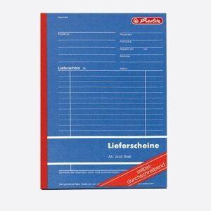 Herlitz A5DELIVERY Note 204, Carbonless, 2x 40Blatt