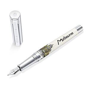 """STAEDTLER Premium Corium Urbes""""Melbourne"""" Medium Tip Fountain Pen"""