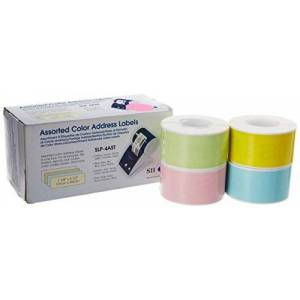 Seiko Instruments Assorted Color Labels for Smart Label Printers (SLP-4AST)