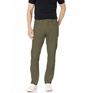 Amazon Essentials Athletic-fit 5-pocket Stretch Twill Pant Casual, Olive, 34W x 28L