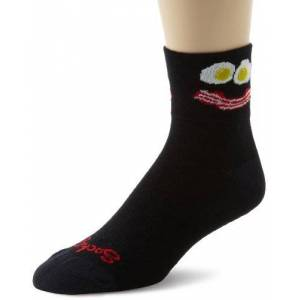 Sockguy Classic Socks - Breakfast, Large/X-Large