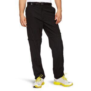 "Craghoppers Men's Kiwi Convertible Trouser, Black, 30, (Regular Leg Length 31"")"