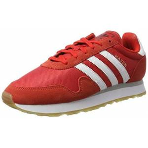adidas Men's Haven Low-Top Sneakers, Multicolor (Red/ftwr White/gum 3), 9 UK