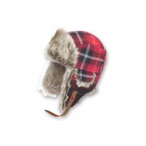 Ignite für II - Adults' Plaid Hat Red red Size:One size