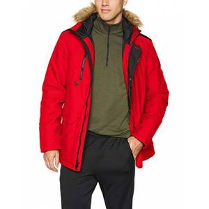Helly Hansen Men's Svalbard Parka Track Jacket, Red (Rojo 111), X-Large