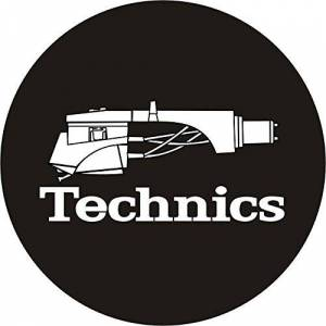 Technics 60644 Headshell 1 Slipmat - Black/White