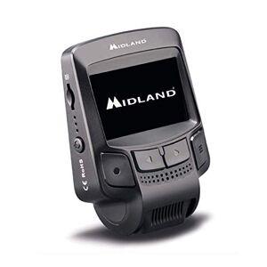 "Midland Street Guardian Flat Dashcam Camera, Full HD Video, Wi-Fi, 2.4"" Display, Motion Detection, Black Box, Park Surveillance"