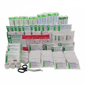 Safety First Aid Group Large British Standard First Aid Kit Refill (BS-8599-1:2019 Compliant)