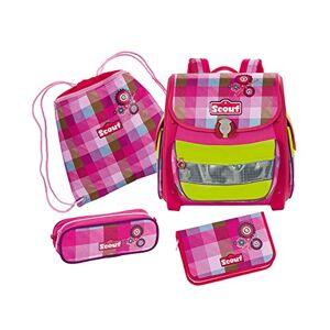 Scout Schoolbag Set, Pink (Multicolour) - 72400920800