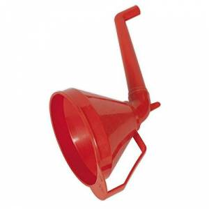 Sealey F16 Ø160mm Medium Funnel with Fixed Offset Spout & Filter