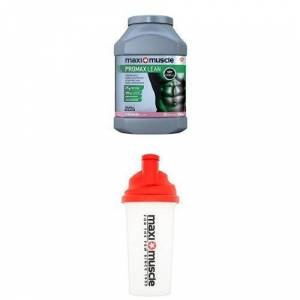 Maximuscle Promax Lean Protein Powder Formulated to Build Lean Muscle, Strawberry, 990 g with Protein Shaker 700 ml