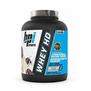 Bpi Sports Whey-HD Supplement, 4 lbs, Milk & Cookies