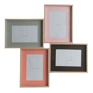 item Photo Frame, Multi-Photo Frame, Wood, 46 x 46 cm