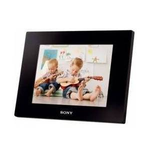 "Sony DPFD820B 8"" Black - Digital Frame (8""), JPG, 2048 MB, Removable Memory, MMC, MS Duo, SD, SDHC, Mini-USB, Black)"