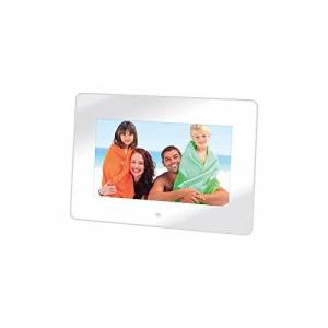 "Trevi DPL 2210 7"" White Digital Photo Frame - Digital Photo Frames (7 inches), 480 x 234 pixels, LED, 16:10, JPG, MMC,SD)"