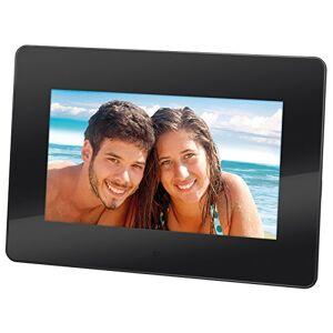 "Trevi DPL 2210 7"" Black Digital Photo Frame - Digital Photo Frames (17.8 cm (7""), 480 x 234 Pixels, LED, 16: 10, JPG, MMC, SD)"