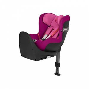 CYBEX Gold Sirona S i-Size Car Seat with ISOFIX and 360° Swivel Mechanism for easy entry and exit, From Birth to approx. 4 Years, Up to Max. 105 cm Height, Autumn Gold