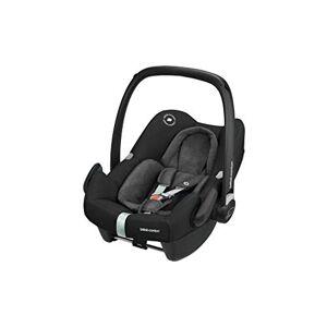 Maxi-Cosi Rock Baby Car Seat Group 0+, Isofix, i-Size Car Seat, Rearward-Facing, 0-12 Months, Nomad Black, 0-13 kg