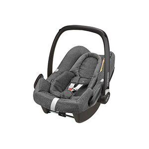Maxi-Cosi Rock Baby Car Seat Group 0+, ISOFIX, i-Size Car Seat, Rearward-Facing, 0-12 m, 0-13 kg, Sparkling Grey