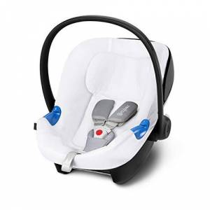 Cybex Silver CYBEX Summer Cover, For CYBEX Infant Car Seat Aton, White