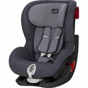 Britax Römer car seat 9-18 kg, KING II BLACK SERIES, group 1, Storm Grey
