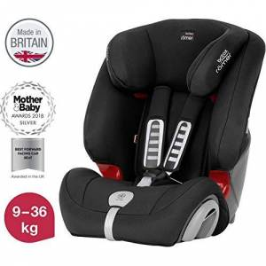 Britax Römer car seat 9-36 kg, EVOLVA 123 PLUS  group 1/2/3, Cosmos Black