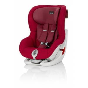 Britax Römer KING II Group 1 (9-18kg) Car Seat - Flame Red