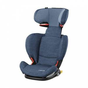 Maxi-Cosi RodiFix AirProtect Child Extra Protection Isofix Booster Car Seat, Nomad Blue, 15 - 36 kg, 3.5 - 12 Years