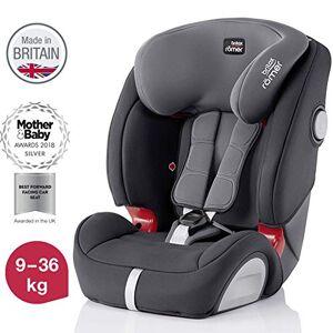 Britax Römer car seat 9-36 kg, EVOLVA 123 SL SICT Isofix group 1/2/3, Storm Grey